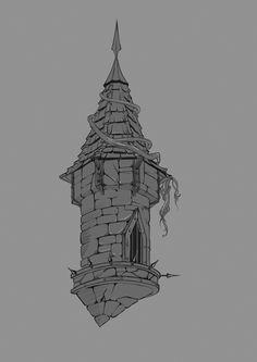 ArtStation - tower, Katya S.
