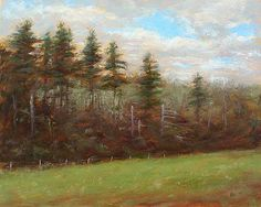 At Oliver's Farm - Landscape Paintings by Joe Kazimierczyk
