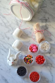 DIY Marshmallow Crafting Kit Gift with Candy Aisle Crafts