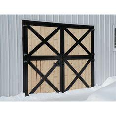 Hose Barn Door -  Double Dutch Door Premium  Painted System Fencing