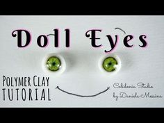 Lifelike ooak Doll Eyes 1/12 and other scales - Polymer Clay Tutorial - YouTube