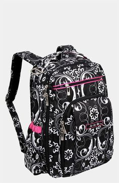 Now this is what I call a diaper bag - Backpack, cute patterns, somewhat reasonable price tag!   Love!!!