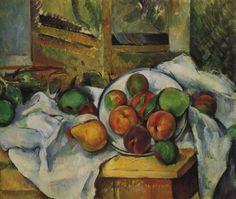 Paul Cézanne - Un coin de table, c. 1895, oil on canvas