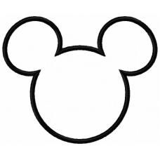 Mouse Head Silhouette