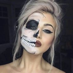 Make up Halloween tuto idea
