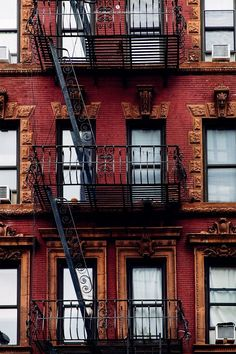 Fire Escape, Stairway on Manhattan Building, New York, United States, Black a. New York Photography, Urban Photography, Street Photography, Travel Photography, World Trade Center, Visit New York, Shopping In New York, New York City, New York Wallpaper