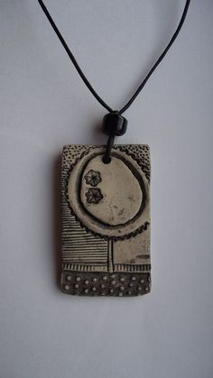 Clay Necklace (by Highland Fairy)