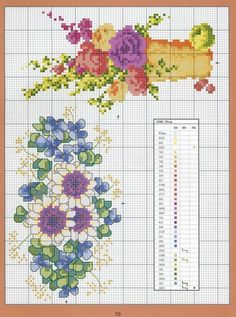 Cross-stitch Florals, part 4...    Gallery.ru / Фото #115 - Cross-Stitch Florals - tymannost