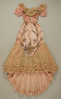 Ball Gown    Jacques Doucet, 1898-1900