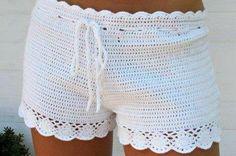 Shorts en crochet !