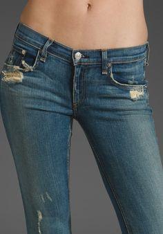 RAG & BONE ULTRA SEXY DISTROYED FLARE JEANS - INTERMIX EXCLUSIVE SZ 26 eBay