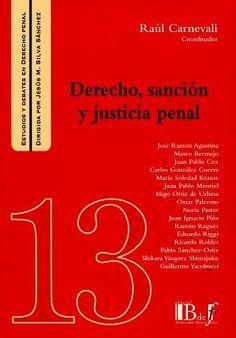 Derecho, sanción y justicia penal / Raúl Carnevali. - 2017.