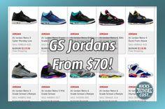 0b3f5002af2e Grade School Jordans on sale from  70 with code