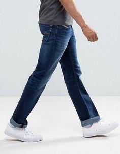 Diesel Larkee Straight Fit Jeans 860L - Blue