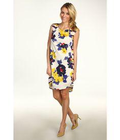 Jessica Simpson Pleated Back Dress #summerhottie #6pm.com