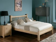 Aston solid oak at the Bed and Mattress Centre