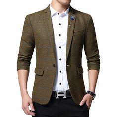 Kleidung & Accessoires Gifts For Men Classic Mens Striped Triple Stripe Silk Necktie Tie Blue Brown GüNstige VerkäUfe
