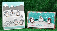 Check out http://lawnfawn.com to see our products, more ideas and inspiration! In this video Lawn Fawn owner Kelly Marie introduces Snow Cool and makes 2 car...
