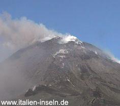 Vulkan Etna - Ätna Provinz Catania auf Sizilien - 2006  http://www.italien-inseln.de/aetna/vulkantour-reisebericht.html