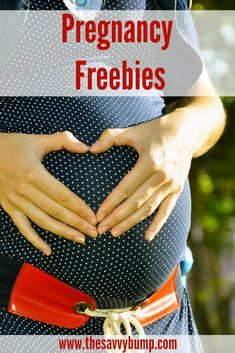 If you're pregnant, you deserve lots of free stuff and this is the BEST list you'll find. #pregnancy #free #baby