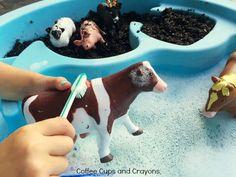 get-kids-busy-washing-farm-animals-in-this-simple-preschool-sensory-bin