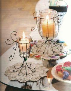 #velas #hierro wire