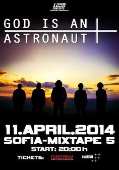 GOD IS AN ASTRONAUT ще свирят в София на 11 април