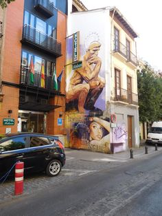 Graffiti in El Realejo, Granada