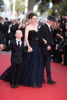 Marion Cotillard en robe Dior haute couture sur-mesure au Festival de Cannes 2012