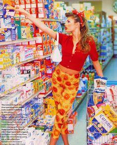 Ellen Von Unwerth, Vogue Uk, Bridget Hall, Rockabilly Moda, Rockabilly Fashion, Rockabilly Style, Moda Retro, Moda Vintage, Estilo Pin Up