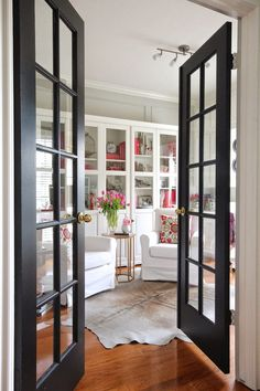 I Really Want My New Office Doors To Look Like This For The Home