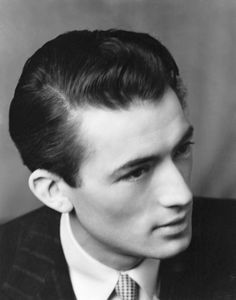A young, Gregory Peck