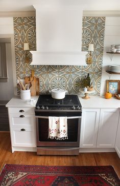 """This post is so long overdue, but today, excited to share a little """"insider look"""" at a few key decisions we made in this kitchen to save big money and to boost functionality in this. Ikea Cabinets, Painting Kitchen Cabinets, Kitchen Cupboards, Kitchen Redo, Kitchen Backsplash, New Kitchen, Kitchen Remodel, Kitchen Dining, Small Farmhouse Kitchen"""
