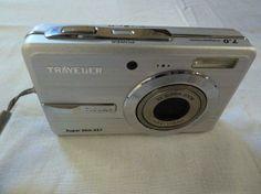 Digitalkamera Traveler 7.0 Mega Pixel, 3fach optisches Zoomobjektiv € 59, - gebraucht kaufen Camcorder, Electronics, Video Camera, Movie Camera, Consumer Electronics
