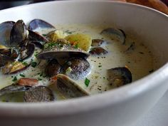 Clam Chowder from Hog Island Oysters...best clam chowder in the world.  Better than Beantown hands down.