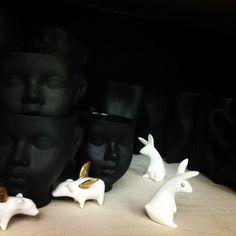 Porcelanowy króliczek Projekt: Natalia Gruszecka Fot.: Magda Oczadły