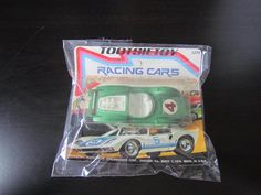 Vintage 1974 TOOTSIETOY Green #4 Racing Cars Die Cast Metal Auto Racer 1270 #TootsieToy