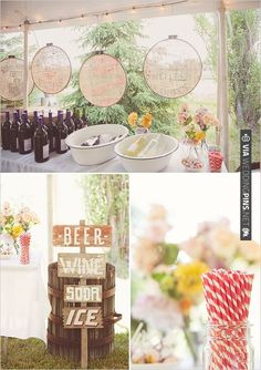 drink table ideas | CHECK OUT MORE IDEAS AT WEDDINGPINS.NET | #weddingfood #weddingdrinks