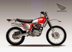 """Design Corner - Honda CRF 230 """"Jewel"""" by Oberdan Bezzi"""
