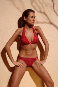 069c4c946b5 Cool Two-Piece Swimsuit Kostium kąpielowy Romantic Red - Demi Saison Check  more at http