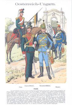 Band IV #18.- Österreich-Ungarn. Ulanen. 1859.