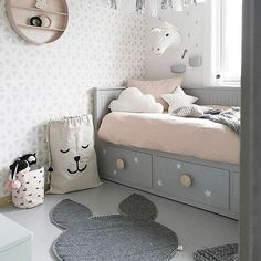 5 clever ideas to upgrade your kid's ikea bed kids room idea Ikea Daybed, Cama Ikea, Baby Bedroom, Bedroom Decor, Ikea Bedroom, Bedroom Kids, Nursery Decor, Hemnes Bed, Deco Kids
