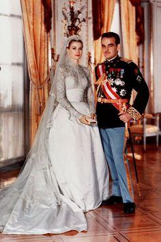 Grace Kelly style mythique robe de mariee Helen Rose