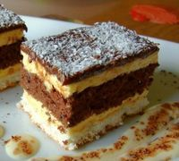 Kolač noć u Veneciji — Domaći Recepti Albanian Recipes, Croatian Recipes, Baking Recipes, Cookie Recipes, Dessert Recipes, Jednostavne Torte, Food Cakes, Cupcake Cakes, Low Carb Brasil