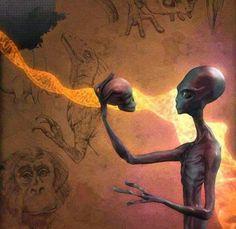 ALIENS: Space Visitors Had Come To clarify the Primitive Man