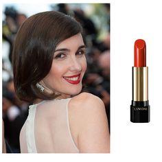 La actriz española Paz Vega ha apostado por un color rojo. L'Absolue Rouge - Rosa de Bengala de Lancôme es perfecto. Es un tono rojo bengala, un rosa caliente y especiado. (Precio: 31,60 €). (Foto: Cordon Press).