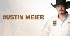 Austin meier Professional Bull Riders, Bull Riding