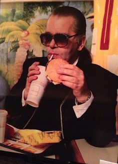bloodyunbowed:  fat karl  vintage mcds photo and i thought the straw was a cigarette at first