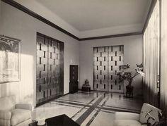 Villa Necchi Campiglio, Milano - 1932-35, Piero Portaluppi