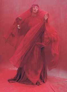 Marion Cotillard by Tim Walker for W...